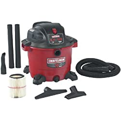 Craftsman 9-17761 16 Gallon Wet and Dry Vacuum with 6.0 Peak Horsepower