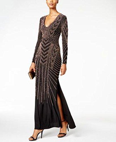 Xscape Beaded Long Dress 6