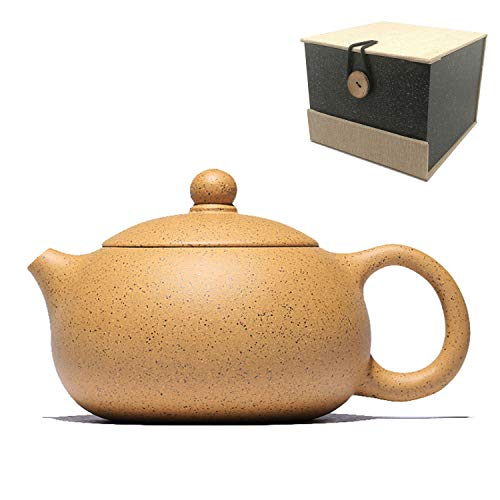 (Teapot,QMFIVE,DuanNi Xi Shi pot Chinese traditional Kung Fu tea set for oolong, longjing, black tea)