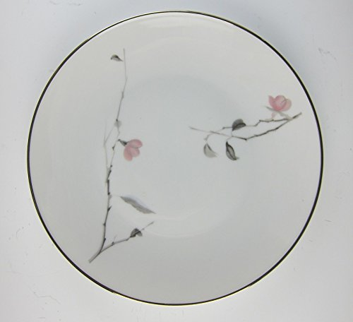 Rosenthal China JAPANESE QUINCE-PLATINUM TRIM Salad Plate(s) EXCELLENT