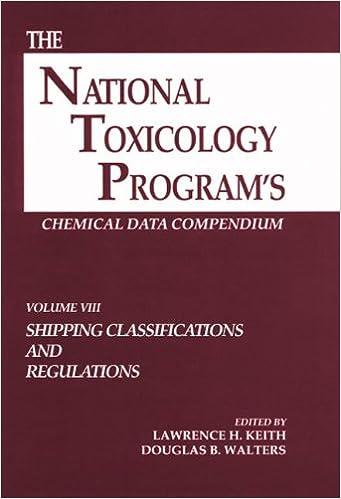 Descarga gratuita de libros electrónicos en francés.The National Toxicology Program's Chemical Data Compendium, Volume VIII (Spanish Edition) PDF DJVU FB2 0873717228