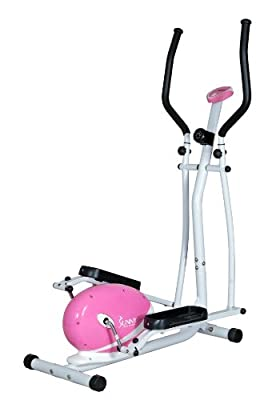 Sunny Health and Fitness Pink Magnetic Elliptical Trainer by Sunny Health & Fitness (SJTT9)