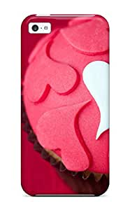 1139168K32034951 Fashionable Iphone 5c Case Cover For Love Cupcake Protective Case