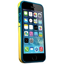 iSkin Exo Case for Apple iPhone 5/5S/SE - Yellow/Blue