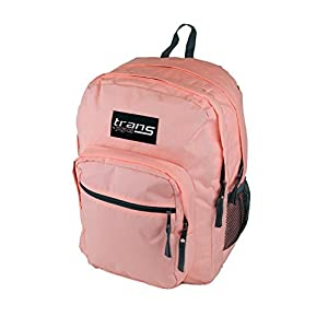 "New Trans by JanSport SuperMax 15"" Laptop Backpack - Coral Peaches"