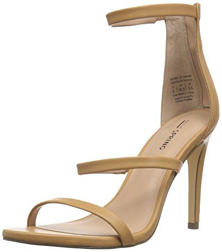 Call It Spring Women's Astoelian Dress Sandal Camel 1TVleyBL