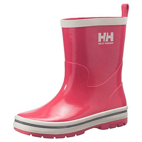 Price comparison product image Helly Hansen JK Midsund Rain Boot (Toddler/Little Kid/Big Kid), Magenta/Off White/Silver, 1 M US Little Kid