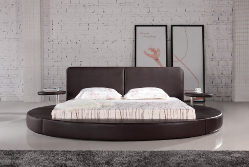 oslo round bed king size chocolate buy online in uae matisse products in the uae see. Black Bedroom Furniture Sets. Home Design Ideas