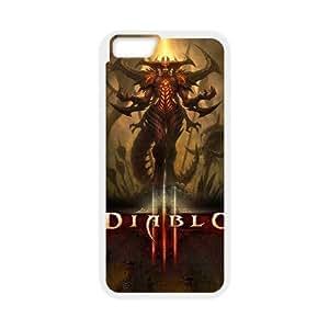 iphone6 4.7 inch White phone case diablo 3 WCT4286206