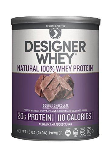 Next Proteins Designer Whey, Natural Double Chocolate, 12.7 Oz by Designer Protein ()