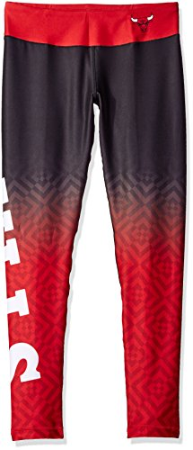 FOCO Chicago Bulls Gradient Print Legging - Womens Extra Large by FOCO