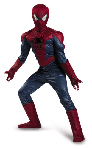 Disguise Marvel The Amazing Spider-Man 2 Movie Spider-Man Prestige Boys Costume, Small/4-6