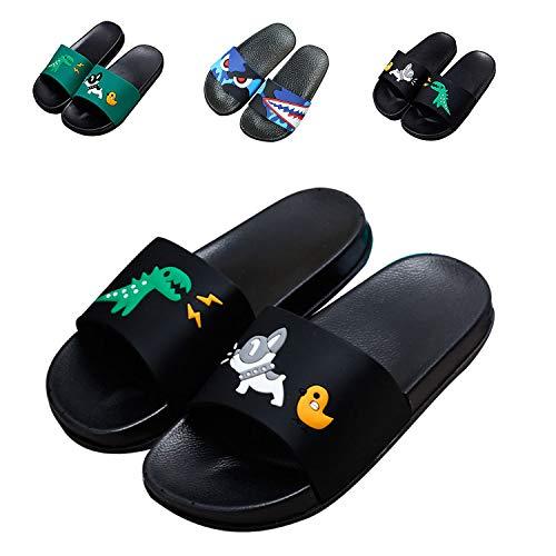 JACKSHIBO Boys Girls Slide Sandals, Outdoor Indoor, used for sale  Delivered anywhere in USA