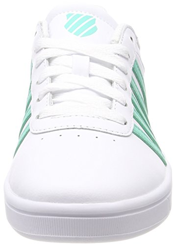 Bermuda Weiß Swiss Sneaker 173 Damen K Cheswick Court White XBn0q4x0