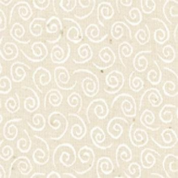 Muslin Mates~Swirls on Natural~9920-12 Cotton Fabric, Blender~Moda (Moda Blender)