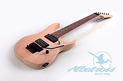 Albatross guitarras gk041 sólido cuerpo 7 cuerdas Guitarra ...