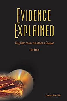 Evidence Explained History Artifacts Cyberspace ebook