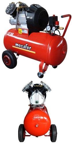 Compresor de pistón compresor de aire comprimido Mecafer 350 – 50 – ölgeschmi