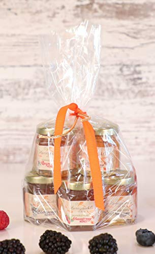 - Berry Honey Gift Set - Organically Infused - 6 Pack (Net Wt 2 Oz Each)
