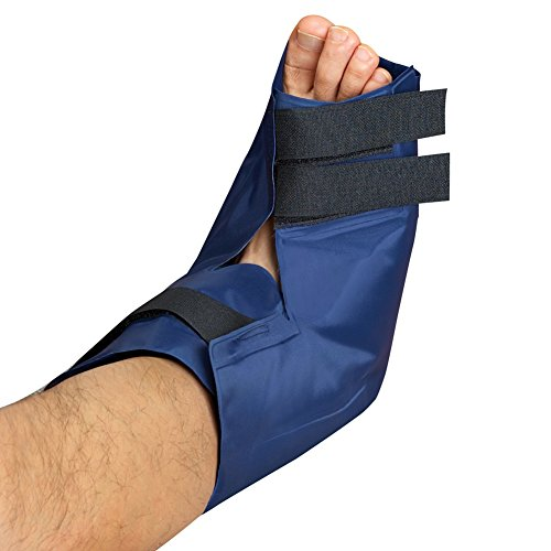 Price comparison product image Adjustable Hot And Cold Gel Foot Wrap, Blue, Large/X-Large