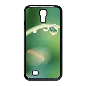 Samsung Galaxy S4 Case,Water Droplet Hard Shell Back Case for Black Samsung Galaxy S4 Okaycosama482123