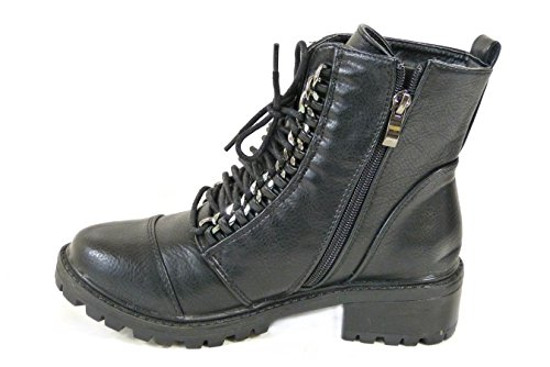 SKOS, Damen Stiefel & Stiefeletten Black (CL119/YD2)