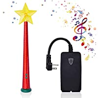 Enlfjoss Wireless Remote Control Outlet with Magic Wand, Wireless Remote Switch for Christmas Tree and Decorative Indoor…