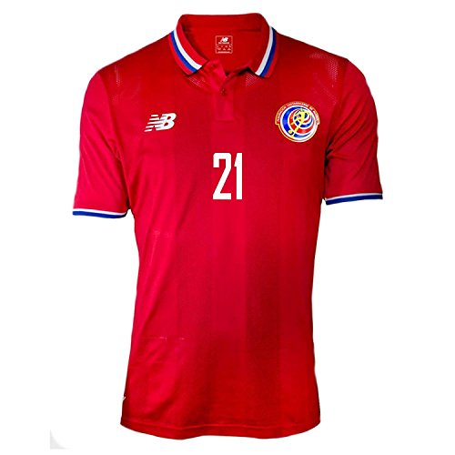 New Balance Quinteros #19 Panama Home Soccer Jersey Gold Cup 2015 (L) Red