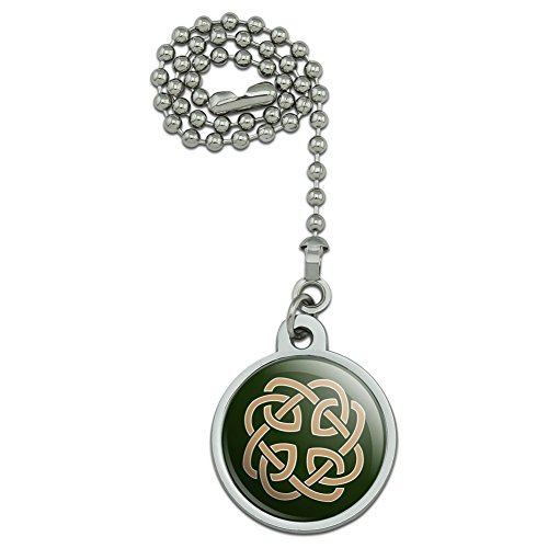 Celtic Knot Love Eternity Ceiling Fan and Light Pull Chain