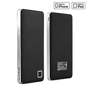 Power Bank, PROPORTA Stripe - TurboCharger 12000 mAh External Charger for Android / IOS Mobile Tablet Portable Charger for iPhones 6S / Galaxy S7 Edge