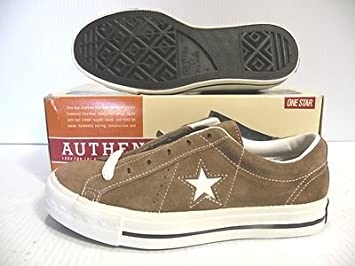 6645204b636 ... closeout converse one star suede ox vintage shoes tan 15875 men size  3.5 women size 5.5