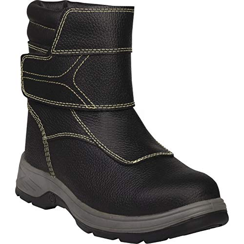 Delta Plus Sault 2 S3 ESD Black Mens Wide Fitting Steel Toe Cap Safety Boots PPE