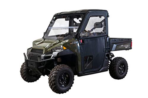 Seizmik Black Framed Door Kit for 2013-2018 Polaris Full Size Pro-Fit Ranger 570XP, 2013-2018  Full Size Pro-Fit Ranger 900XP, and 2016-2018 Full Size Pro-Fit Ranger 1000XP Models