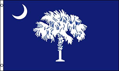 South Carolina State Tree - South Carolina Flag 2x3ft Poly