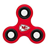 NFL Diztracto Fidget Spinnerz - 3 Way, Kansas City Chiefs, One Size