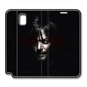 iCustomonline Leather Case for Samsung galaxy Note 3, The Walking Dead Daryl Ultimate Protection Leather Case for Samsung galaxy Note 3