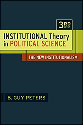 political science and the three new institutionalisms