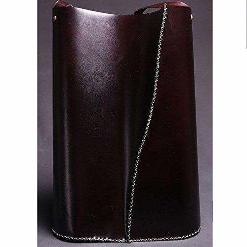 Dark Brown Leather Handmade Women's Tote Bag / Tote Handbag