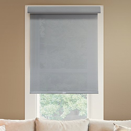 Chicology Deluxe Free-Stop Cordless Roller Shades No Tug Privacy Window Blind, 42