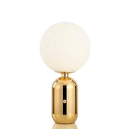 Lámpara de escritorio bola de cristal lámparas de mesa E27 ...