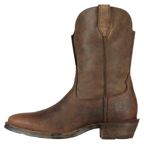 Ariat Mens Rambler R-Toe Boots Earth / Brown Bomber Wfgj9