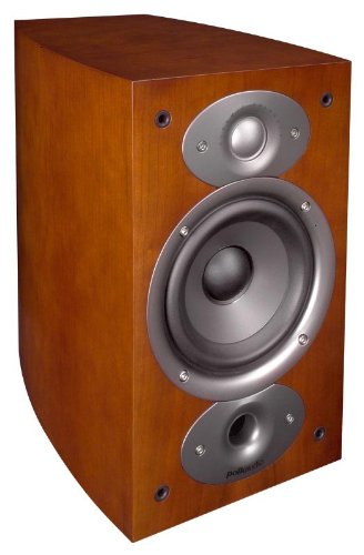 Amazon Polk Audio RTI A1 Bookshelf Speakers Pair Cherry Home Theater