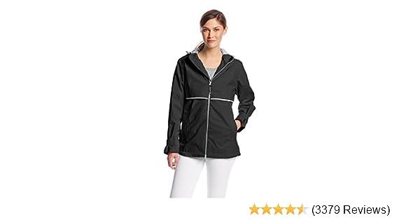 9b206c8f1c7 Amazon.com  Charles River Apparel Women s New Englander Waterproof Rain  Jacket  Clothing