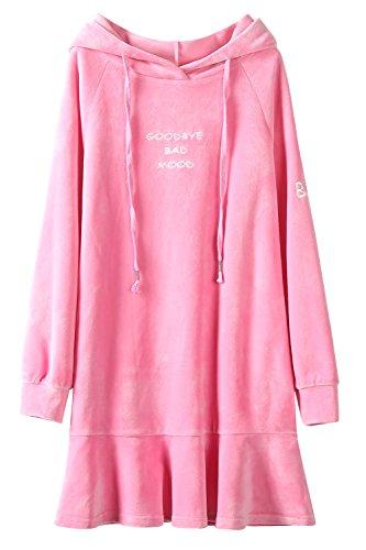 Pink Ruffled Dress - 8