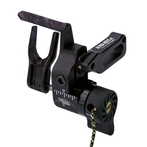 Quality Archery Products Ultra-Rest Pro Series Arrow Rest with Harmonic Dampener (Right Hand)