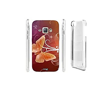 FUNDA CARCASA BUTTERFLY LIGHT PARA SAMSUNG GALAXY J1 SM-J100H