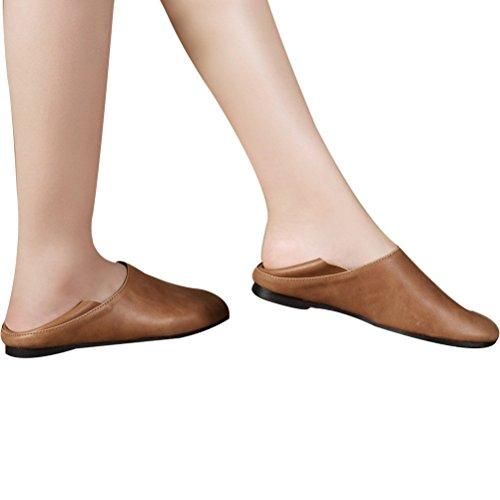 Marrone Scarpe Pompe Stile Comfort 2 Vogstyle Donna Basse w0P5TwqnZx