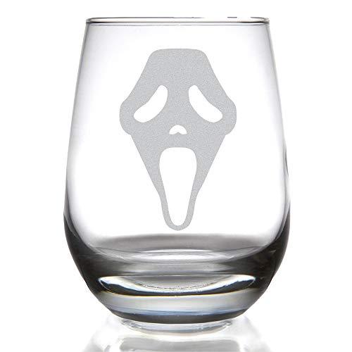 Minimalist SCREAM 15 ounce Stemless Wine