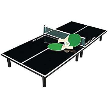 Dunlop Table Top Ping Pong Game Set with 36u0026quot; Long table 2 Paddles and  sc 1 st  Amazon.com & Amazon.com: Dunlop Table Top Ping Pong Game Set with 36