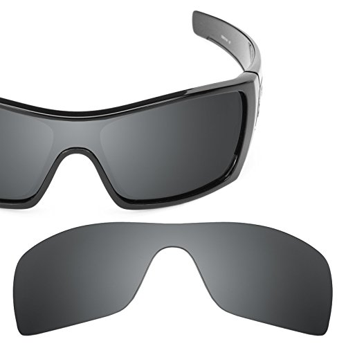 de40c0a5cf8 Revant Polarized Replacement Lens for Oakley Batwolf Black Chrome  MirrorShield